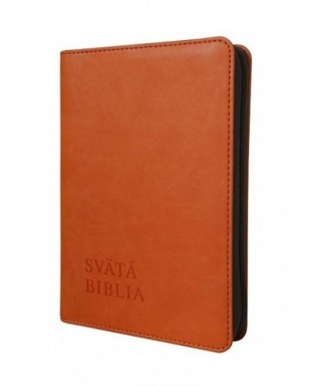 Svätá Biblia,Roháček-vrecková, oranžová