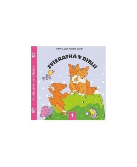 Zvieratká v Biblii 1. - Omaľovánka pre pátračov