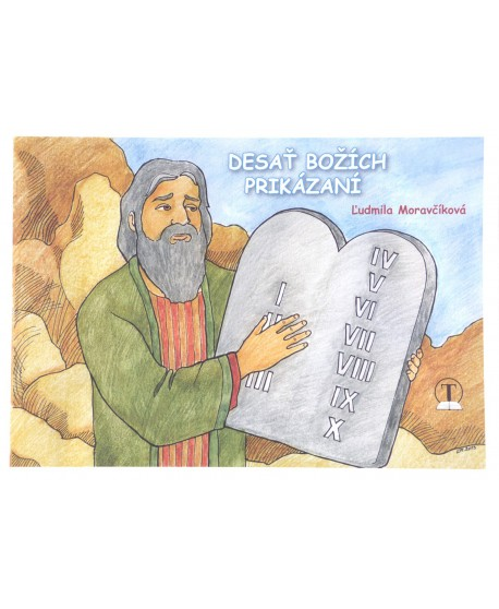 Desať Božích prikázaní - maľovanka