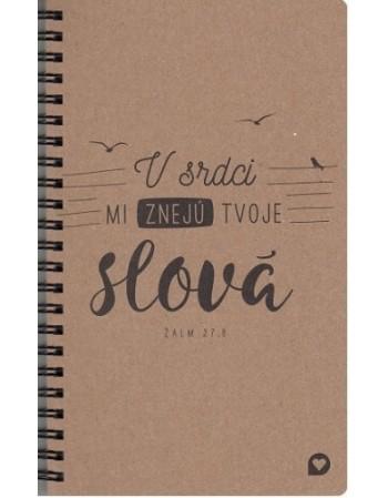 Zápisník - V srdci mi znejú...