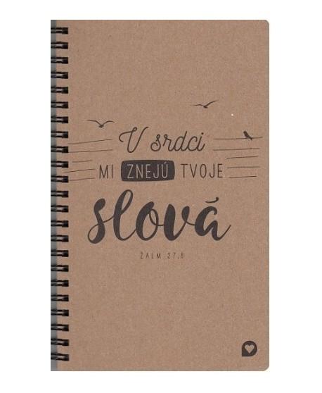 Zápisník - V srdci mi znejú tvoje slová